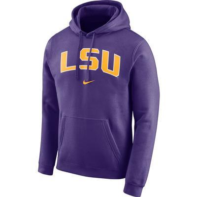 LSU Nike Club Fleece Hoodie
