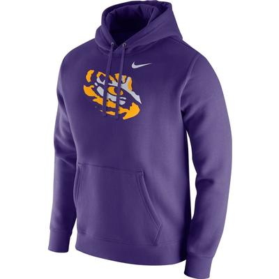 LSU Nike Tiger Eye Club Fleece Hoodie