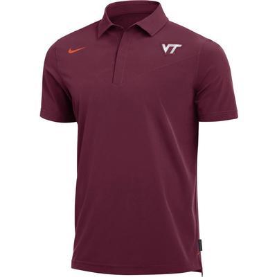 Virginia Tech Nike Men's Coaches Polo