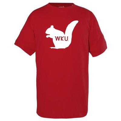 Western Kentucky Garb YOUTH White Squirrel Tee