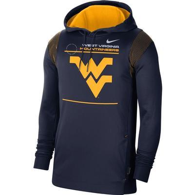 West Virginia Nike Men's Therma Hoodie