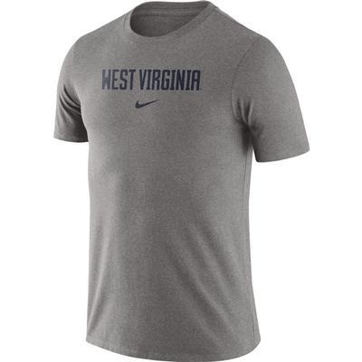 West Virginia Nike Men's Essential Wordmark Tee