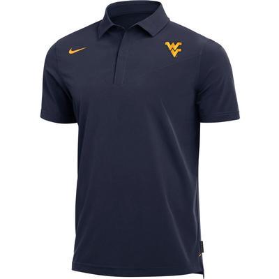West Virginia Nike Men's Coaches Polo