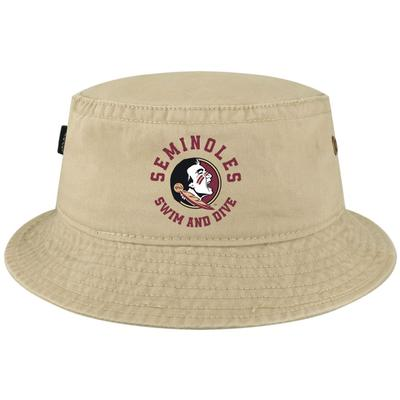 PRE-ORDER - Florida State Swim & Dive Legacy Relaxed Twill Bucket Hat