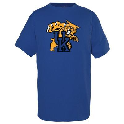Kentucky Garb YOUTH Giant Wildcat Logo Tee