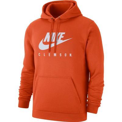 Clemson Nike Club Fleece Hoodie