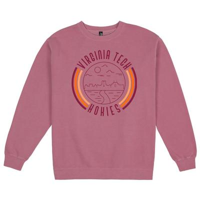 Virginia Tech Uscape Pigment Dyed Crew