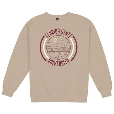 Florida State Uscape Pigment Dyed Crew