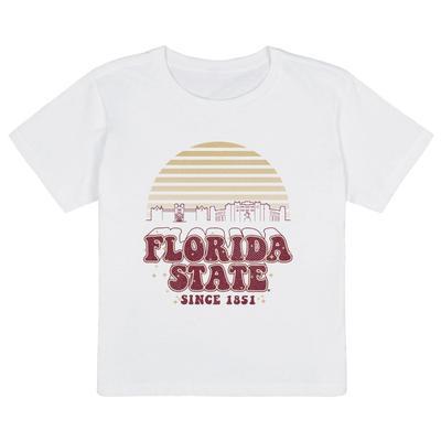 Florida State Uscape Organic High Waisted Short Sleeve Tee