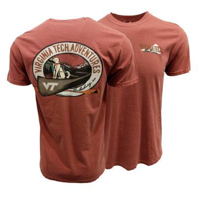Virginia Tech Comfort Colors Canoe Adventures T-Shirt