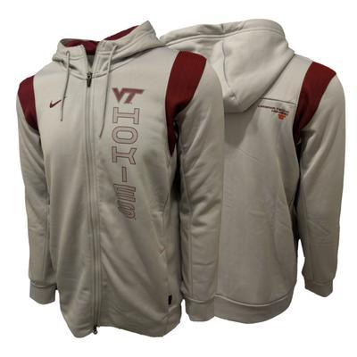 Virginia Tech Nike Men's Therma Full Zip Hoodie