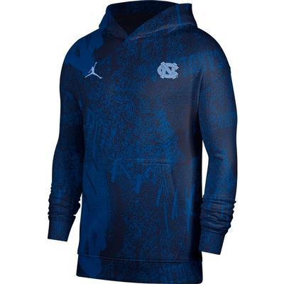 UNC Jordan Brand Travel Fleece Hoodie