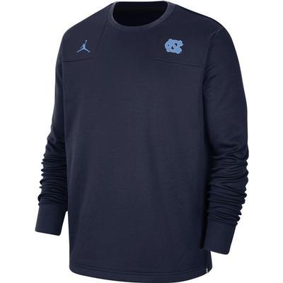 UNC Jordan Brand Men's Crew Sweatshirt