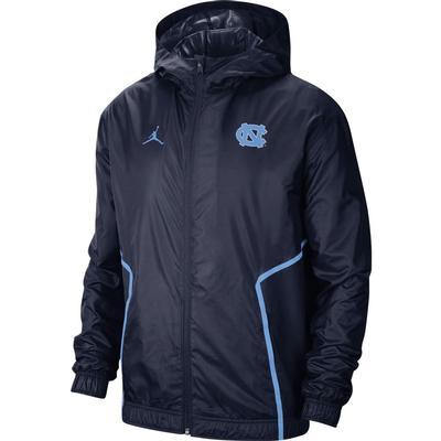 UNC Jordan Brand Men's Woven Jacket