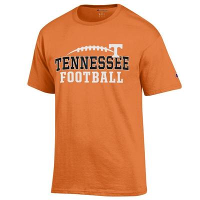 Tennessee Champion Men's Laces Wordmark Tee