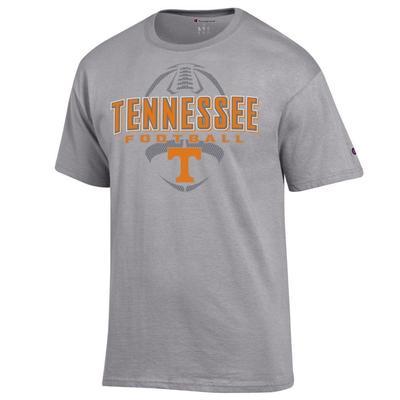 Tennessee Champion Men's Wordmark Football Tee
