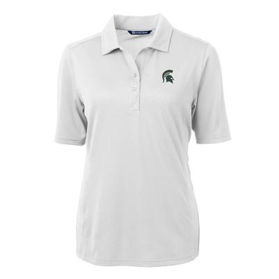 Michigan State Women's Cutter And Buck Virtue Ecopique Polo
