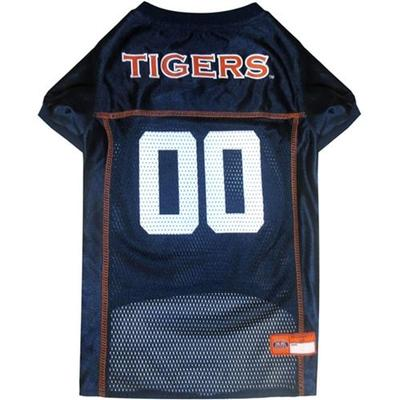 Auburn Pet Mesh Football Jersey