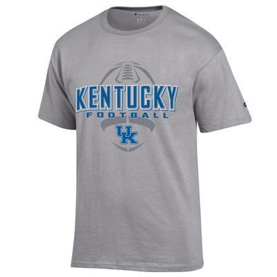 Kentucky Champion Men's Wordmark Football Tee