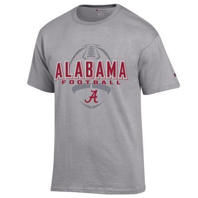 Alabama Champion Men's Wordmark Football Tee