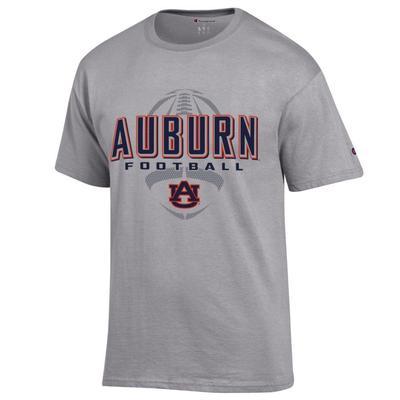 Auburn Champion Men's Wordmark Football Tee