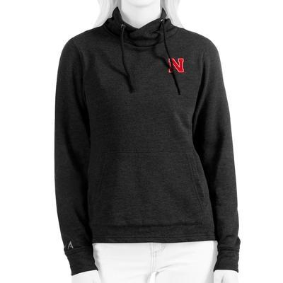 Nebraska Antigua Women's Reward Hoodie