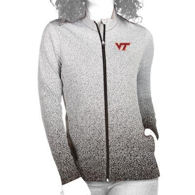 Virginia Tech Antigua Women's Guide Full Zip Jacket
