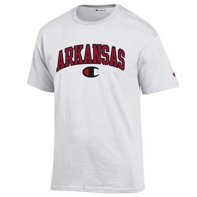 Arkansas Champion Logo Arch Tee