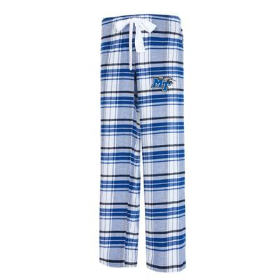 MTSU College Concepts Women's Accolade Flannel Pant