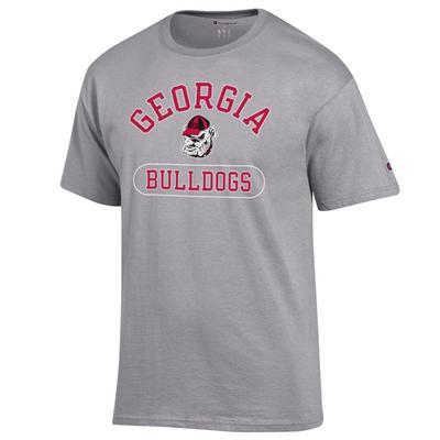 Georgia Champion Men's Arch Pill Tee