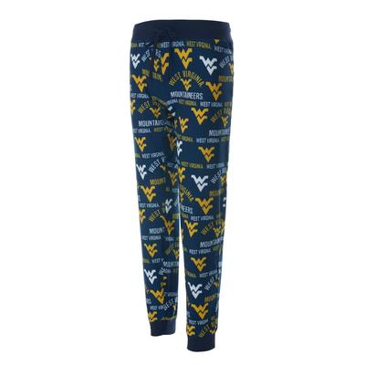 West Virginia College Concepts Women's Flagship Jogger