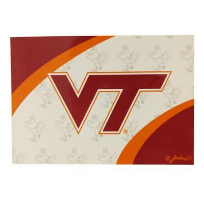 Virginia Tech Logo Postcard