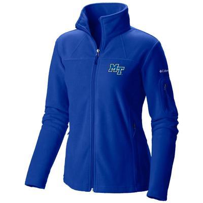 MTSU Columbia Women's Give and Go Full Zip Jacket