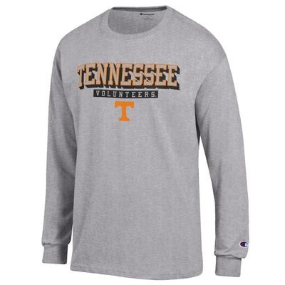 Tennessee Champion Straight Stack Long Sleeve Tee