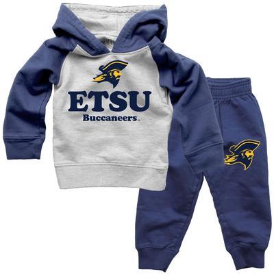 ETSU Infant Fleece Hoodie and Pants Set
