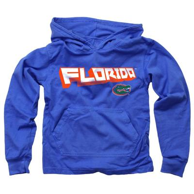 Florida YOUTH Angled Long Sleeve Hooded Tee