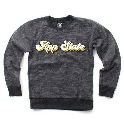 Appalachian State Toddler Reverse Fleece Long Sleeve Pullover