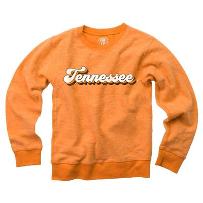 Tennessee YOUTH Reverse Fleece Long Sleeve Pullover