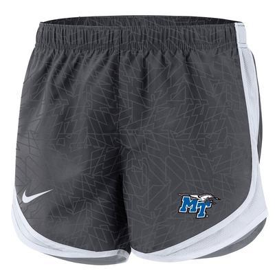 MTSU Nike Women's Pattern Tempo Shorts