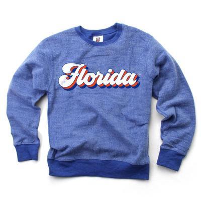 Florida Kids Reverse Fleece Long Sleeve Pullover