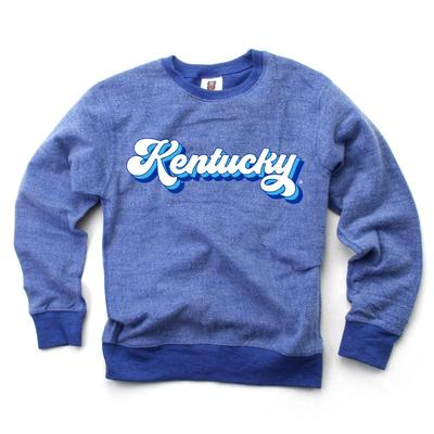 Kentucky Toddler Reverse Fleece Long Sleeve Pullover