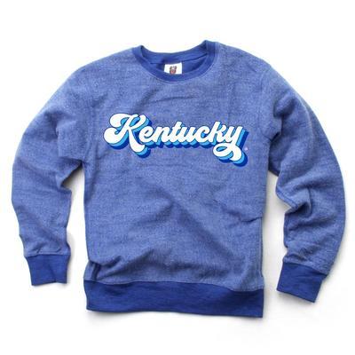 Kentucky YOUTH Reverse Fleece Long Sleeve Pullover