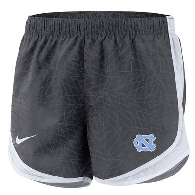 UNC Nike YOUTH Pattern Tempo Shorts ANTHRACITE