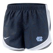 Unc Nike Youth Pattern Tempo Shorts