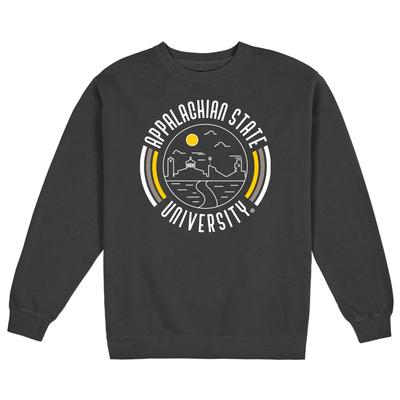 Appalachian State Uscape Pigment Dyed Crew