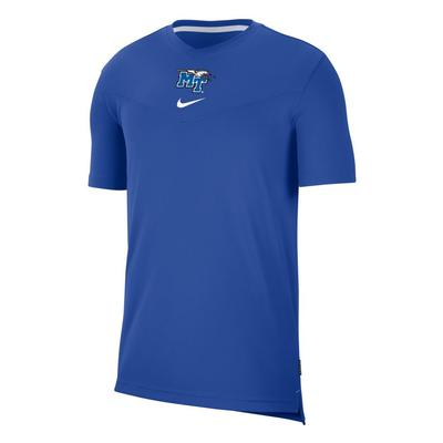 MTSU Men's Nike Coaches UV Short Sleeve Tee