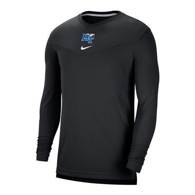 MTSU Men's Nike Coaches UV Long Sleeve Tee