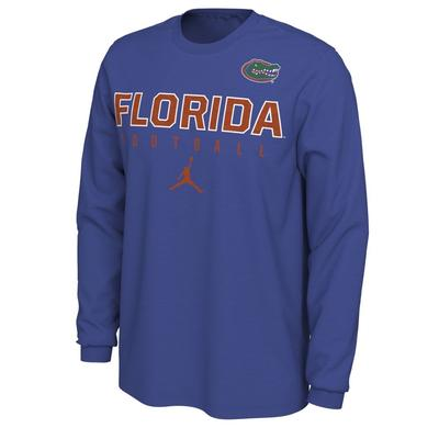 Florida Football Jordan Brand Cotton Long Sleeve Tee