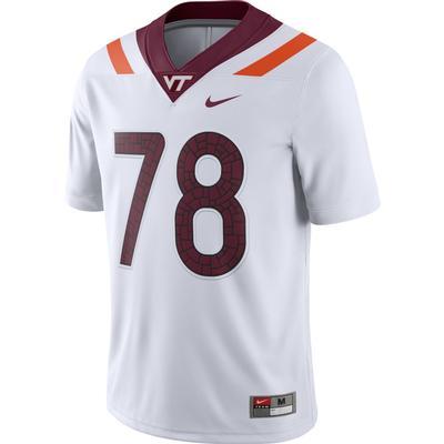 Virginia Tech Nike #78 Football Game Jersey