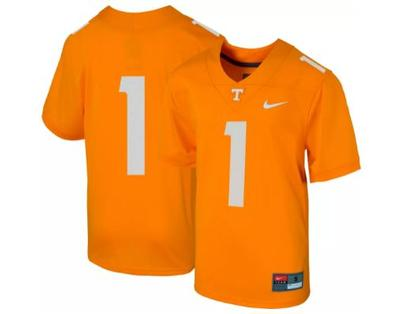 Tennessee Nike YOUTH Replica #1 Football Jersey